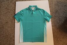 Nike Sample Tiger Woods TW Collection Golf Polo Green Sz M Brand New Sample Item