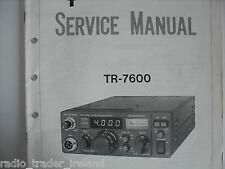 KENWOOD TR-7600 (SERVICE MANUAL ONLY)............RADIO_TRADER_IRELAND.