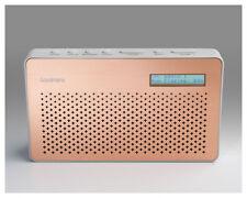 Goodmans Canvas Portable DAB Digital & FM Radio in Copper