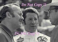 Mario Andretti & Colin Chapman Portrait Indianapolis 500 1969 Photograph