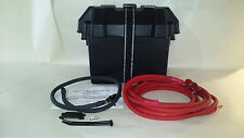 UNIVERSAL TRUNK MOUNT BATTERY RELOCATION KIT 2 GAUGE CABLE MADE IN THE USA NEW