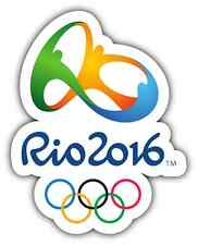 "Rio Olympics 2016 Brazil Car Bumper Window Tool Box Sticker Decal 4""X5"""