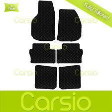 Black Fully Tailored Rubber Car Floor Mats For Vauxhall Zafira B MK2 2006 - 2011