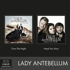Need You Now/Own The Night by Lady Antebellum (CD, Nov-2012, 2 Discs, Virgin)