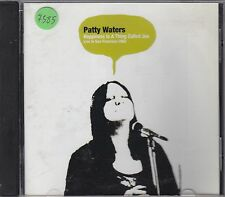 PATTY WATERS - happiness is a thing called joe CD