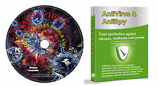 Anti-Virus Anti Eliminación Spyware Troyano Software ++ Extra