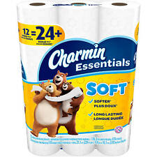 Quality Charmin Soft 12 Double Rolls Ultra Soft Comfort Toilet Paper Bathroom