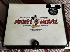 """DISNEY"""" S  MICKEY MOUSE   CHARACTER ACADEMY  ART STUDIO  DRAWING CASE"""