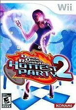 Konami Dance Revolution: Hottest Party 2 (Nintendo Wii, 2008) With Mat BRAND NEW