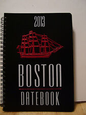 "2013 PLANNER, BOSTON DATE BOOK, WEEKLY & FULL MONTH PAGE AS WELL, 5.75"" x 7.75"""