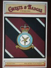POSTCARD NO 216 SQUADRON RAF CREST BADGE OF THE ARMED FORCES
