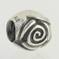NEW Genuine Pandora Charm - Sterling Silver Silver Rose 790394 ALE 925 Pendant