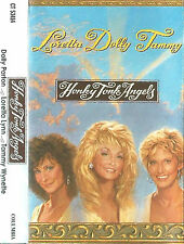 Loretta Lynn Dolly Parton Tammy Wynette CASSETTE ALBUM Honky Tonk Angels Country