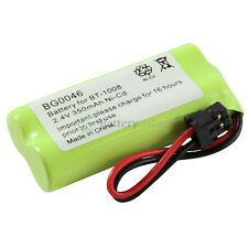 Cordless Home Phone Rechargeable Battery 350mAh NiCd for Uniden BT-1008 BT1008