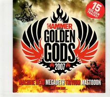(GT365) Metal Hammer 167, Golden Gods 2007, 15 tracks various artists - CD