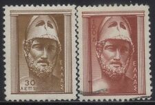 [JSC]1954 Greece: Scott #556 - Antique Art Europe Old Stamps