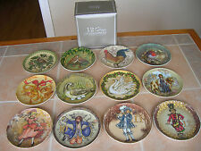 Pottery Barn Twelve Days of Christmas Salad Dessert Plates NEW in Box 12 Designs