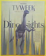 Wentworth Miller Katie Carr DINOTOPIA Chicago Tribune TV Week guide May 12 2002