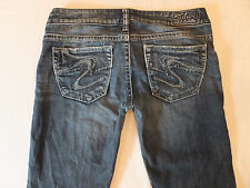 Silver Tuesday 20 Size 27 x 30 Bootcut Stretch Women's Jeans