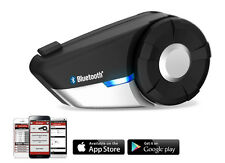 SENA 20S Bluetooth Headset/Intercom w/ FM Radio for Motorcycle Helmet, Single
