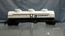 Bachmann HO Scale Cyanamid Triple Dome Oil Tanker Freight Train Car
