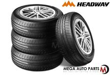 4 X New Headway HH301 LT185/55R15 82V Luxury All Season Performance Tires