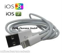 New USB Charging Cable Charger Lead for Apple iPhone 5 5S 5c 6 6+ iPad4 iPadAir2
