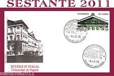 ITALIA FDC ROMA, SCUOLE D'ITALIA UNIVERSITA' DI NAPOLI 1991, ANNULLO MATERA, E28
