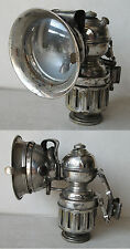 ANTIQUE CARBIDE ACETYLENE BIKE LAMP / 1920s