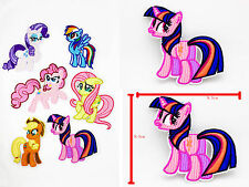 My Little Pony Twilight Sparkle Iron on Patches Embroidered Badge Applique patch