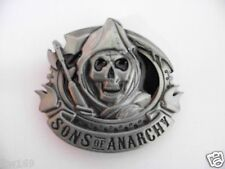 BELT BUCKLE SONS OF ANARCHY SCOOTER EMBROIDED FOR VEST SHIRT CAP HELMET JACKET