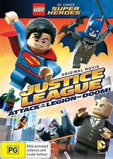 LEGO - Justice League - Attack Of The Legion Of Doom (DVD, 2015)