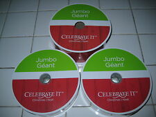 LOT OF 3 JUMBO ROLLS OF WIRED RED VELVET & BURLAP RIBBON -BRAND NEW