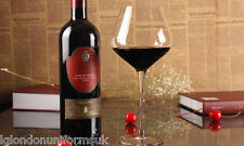 Red wine Glass glasses Crystal BOHEMIA 620ml BOUQUET shock resistant -BY GLASS-
