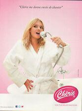 Publicité Advertising 2011  radio Chérie FM