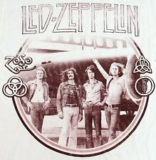 LED ZEPPELIN Stand By T-shirt ZOSO The Starship Vintage Photo Tee Adult 2XL XXL