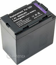 High-Capacity Battery for Panasonic CGR-D54 HVX-200 AG-DVX AG-DVX100 AG-DVC30