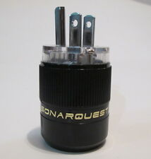 SONAR QUEST CRYO Audio Grade Rhodium plated US main plug sonarquest