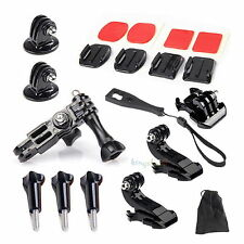 15in1 Grab Bag of Mounts Kit Adapter Accessory for Gopro HD Hero 4 3+ 3 2 SJ4000