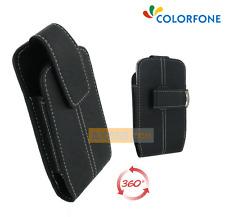 Etui POUCH Clip Ceinture Rotatif 360° Noir pour SAMSUNG Galaxy Nexus - i9250