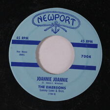EMERSONS: Joannie Joannie / Hungry 45 (repro) Vocal Groups