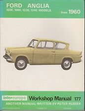 FORD ANGLIA 105E 106E 123E 124E SALOON ESTATE 1960 - 1968 OWNERS WORKSHOP MANUAL
