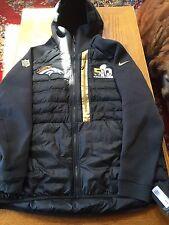 Sale  Denver Broncos Super Bowl 50 Nike Aeroloft Jacket- Size Xl  Limited