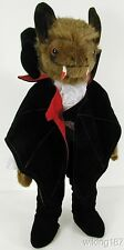 KOSEN Made in GERMANY NEW Fantasy Vampire Bat Plush Toy in Period Costume/Cape