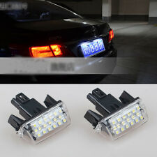 2x Bright Led SMD License Number Plate Light For Toyota Corolla Fielder 12-2016