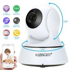 Wireless HD 720P Pan Tilt Security IP Camera Night Vision WiFi Webcam EU I2Z4