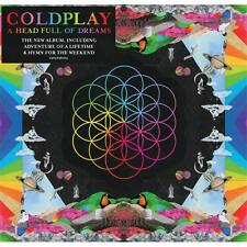 COLDPLAY A HEAD FULL OF DREAMS CD NEW