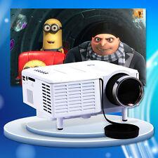 Mini 1080P LCD Projecteur PC VGA AV USB SD HDMI Home Cinéma Vidéoprojecteur LED