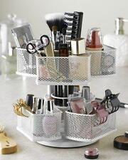 Makeup Cosmetic Beauty Organizer Carousel Rack Stand Display Holder Storage Wire