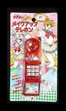 Super S SAILOR MOON CHIBIUSA Luna Artemis red cell phone mobile toy sound Japan